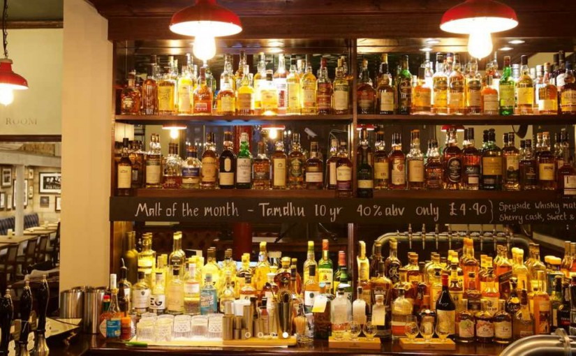 Exclusive Offer: 20% off whisky at The Grey Horse, Kingston